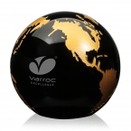 Promotional products: Globe Paperweight - Optical 3