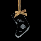 Promotional products: Bevelled Ornament - Stocking