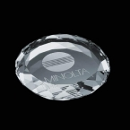 Promotional products: Amherst Paperweight - Optical 3½