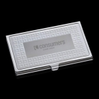 Promotional products: Gina Business Card Case - Polished