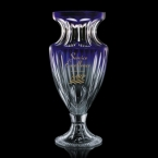 Promotional products: Octavia Trophy - Lead Crystal/Blue  15
