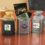 Promotional products: X-cube filled with different flavors