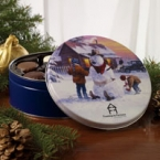 Promotional products: Collector tin filled with different flavors