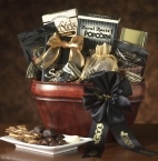 Promotional products: Death by chocolate gift basket