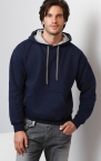 Promotional products: Contrast Hooded Sweat