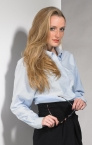 Promotional products: LADIES OXFORD L/S SHIRT