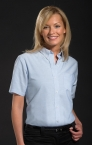 Promotional products: LADIES OXFORD S/S SHIRT