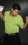 Promotional products: TECH CORE STRIPE POLO