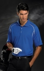 Promotional products: CONTRAST STITCH POLO