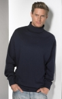 Promotional products: TURTLENECK INTERLOCK JERSEY L/S