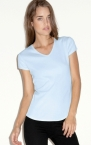 Promotional products: RIB V-NECK T-SHIRT