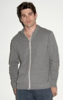 Promotional products: UNISEX TRIBLEND LIGHT HOODIE