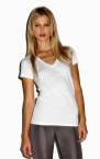 Promotional products: SHEER RIB LONGER T-SHIRT