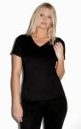 Promotional products: MISSY JERSEY V-NECK TEE