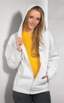 Promotional products: LADIES FULL ZIP HOODED JACKET