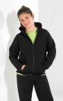 Promotional products: FULL ZIP HOODED SWEATSHIRT