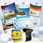 "Promotional products: Pillows - T-Sport Jersey - 14"" x 14"""