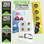 Promotional products: DIGI MATES™ Multi pack Mobile Size - Puzzle Size