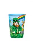 Promotional products: 17oz clear frosted hi-def full color plastic cup
