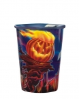 Promotional products: 22oz clear frosted hi-def full color plastic cup