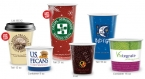Promotional products: 24oz hot or cold hi-def full color paper cup