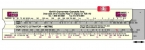 Promotional products: Concrete ruler (7 3/4